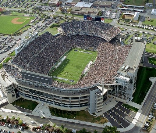 Top 10 Largest College Football Stadiums That Fan