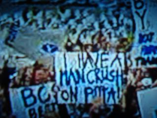 I have a man crush on Pitta (not me, the sign guy!)