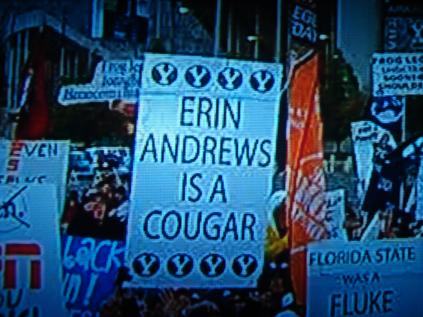 Erin Andrews is a cougar