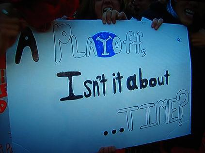 A playoff, isn't it about time? (Yes, That Fan believes so)