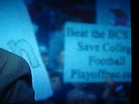 Beat the BCS.  Save College Football.  Playoffpac.com
