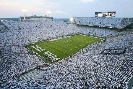 Penn State Whiteout - Unreal!