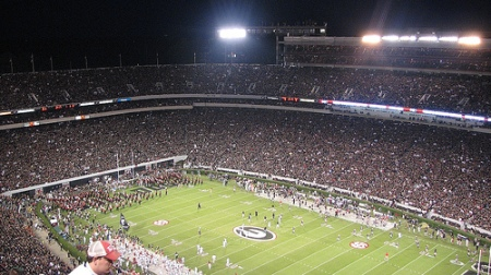 University of Georgia Black-out game vs. Alabama