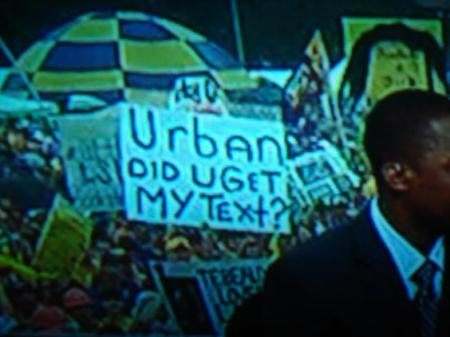 Urban Meyer Sign